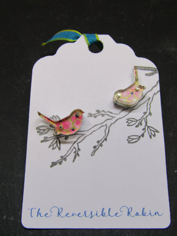 Bird Design Earrings