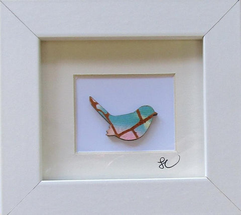 Bird - Framed Assemblage