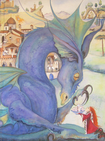 """Tell Me A Dragon"" - Artists Limited Edition Book NEW! Signed Copies by Jackie Morris"
