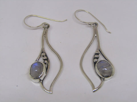 Iris Moonstone Earrings