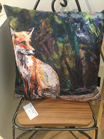 Resting a While - Cushion by Rachel Wright