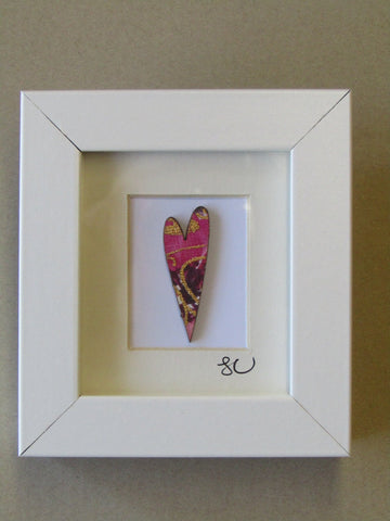 Love Heart - Framed Assemblage