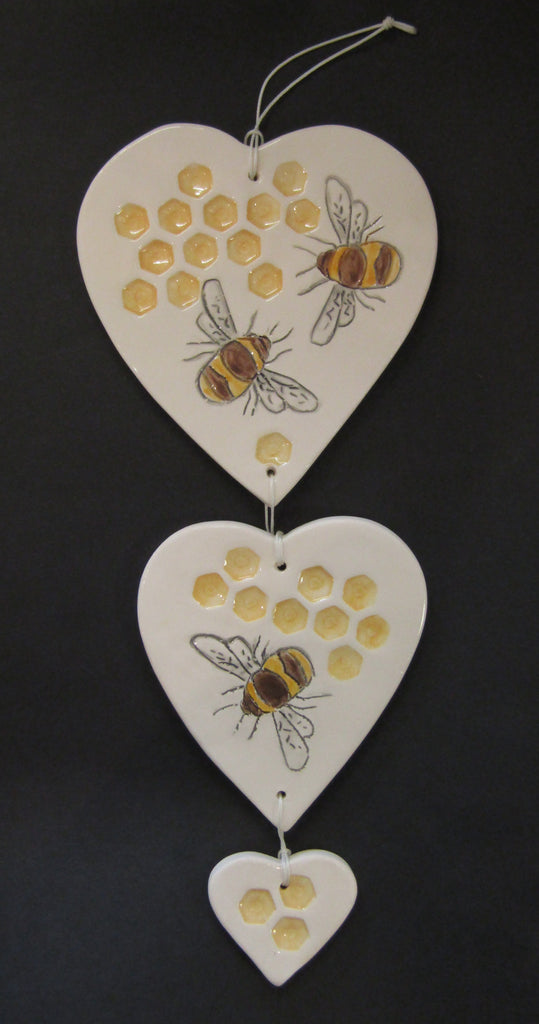 Bee Hanger Set by Stephanie Beasley