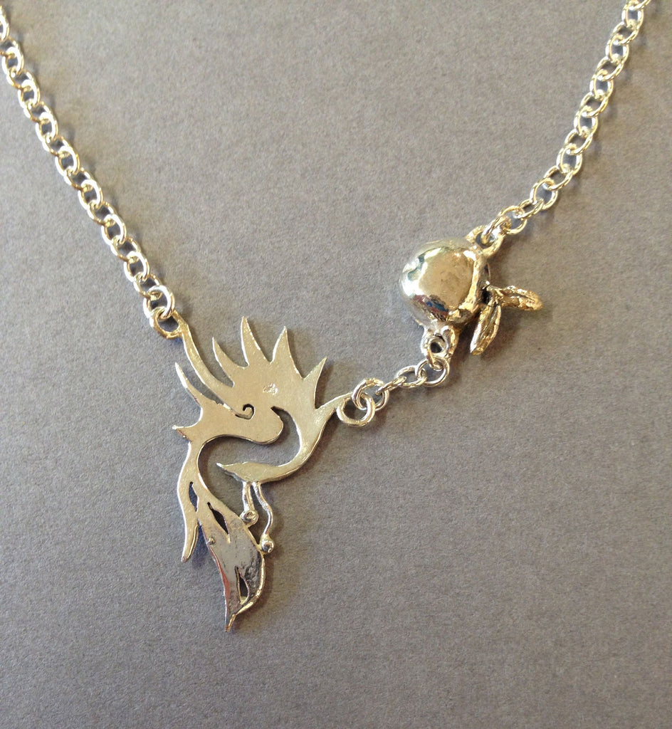 Fawkes Necklace by Jesa Marshall