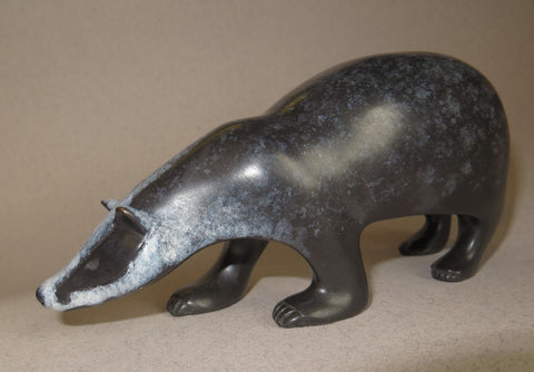 Bronze Badger by David Meredith