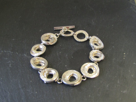 Silver Bracelet by Chris Lewis