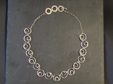 Silver Necklace by Chris Lewis
