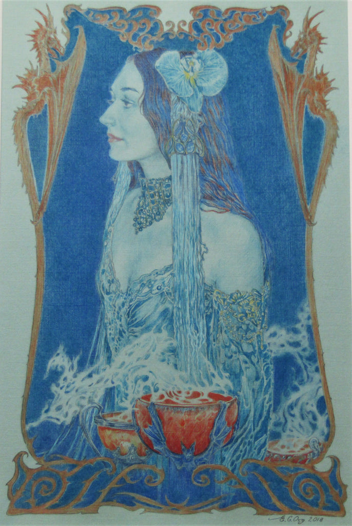 Circe - Signed Limited Edition Print by Ed Org