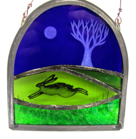 Engraved Tree - Glass by Debra Eden