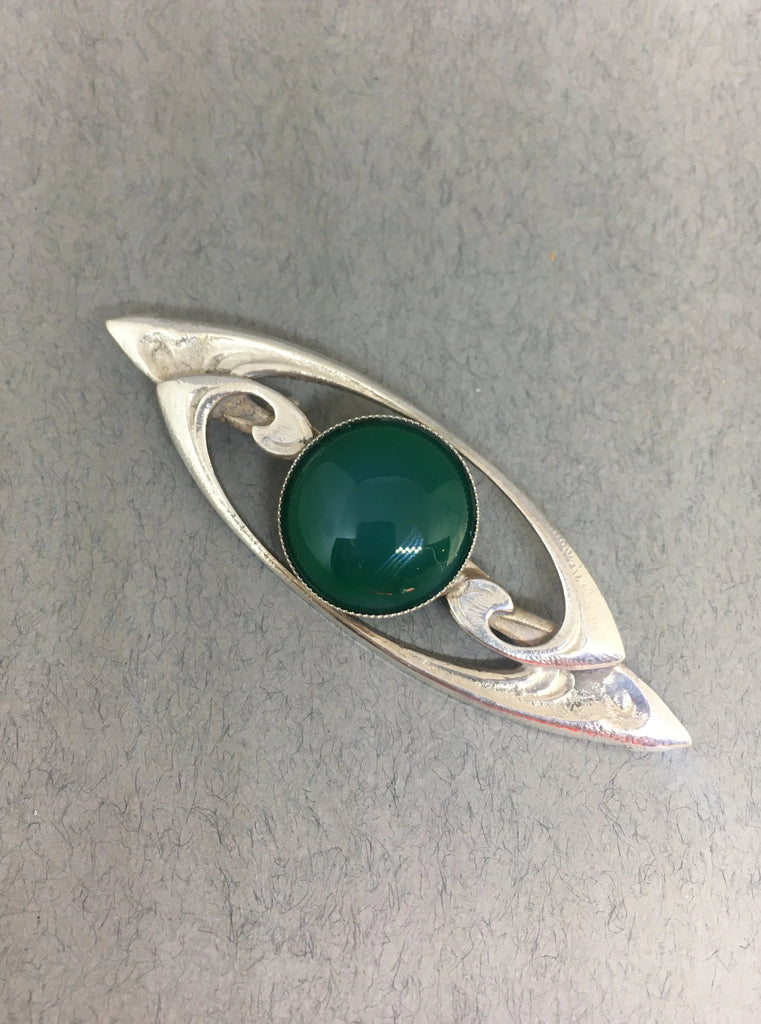 Art Nouveau Design Brooch by Jess Lelong
