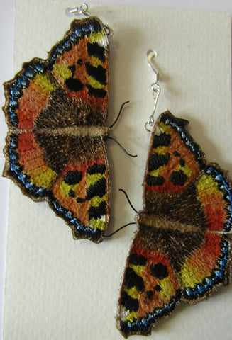 Tortoiseshell Butterfly Earrings by Vikki Lafford Garside