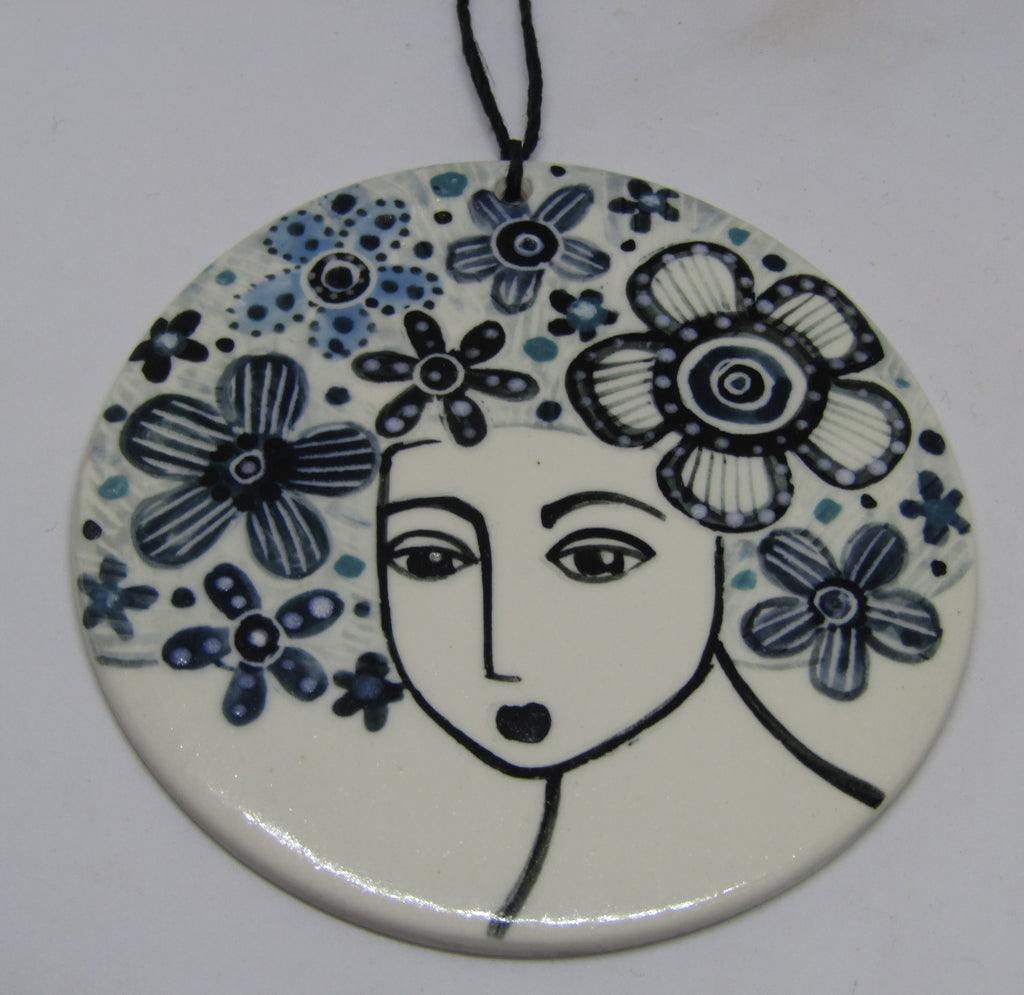 Ceramic Tile by Karen Risby