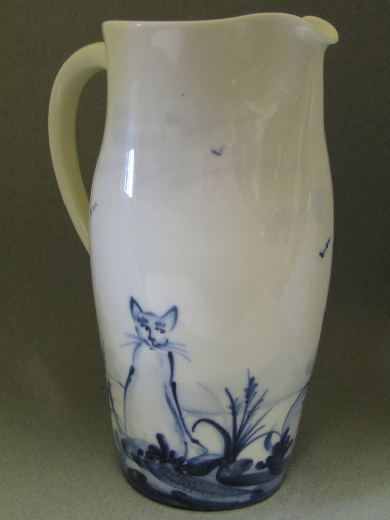 Fireworks Design Medium Jug Hand-thrown, Hand-Painted Porcelain by Mia Sarosi