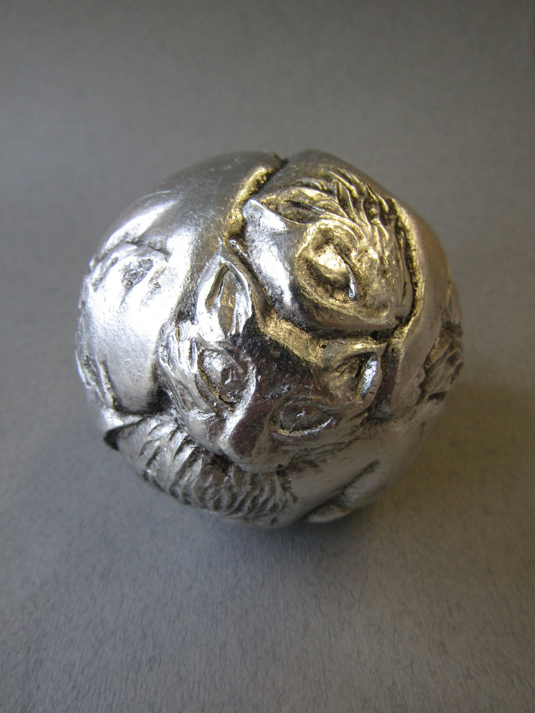 Silver Cat Totem Orb