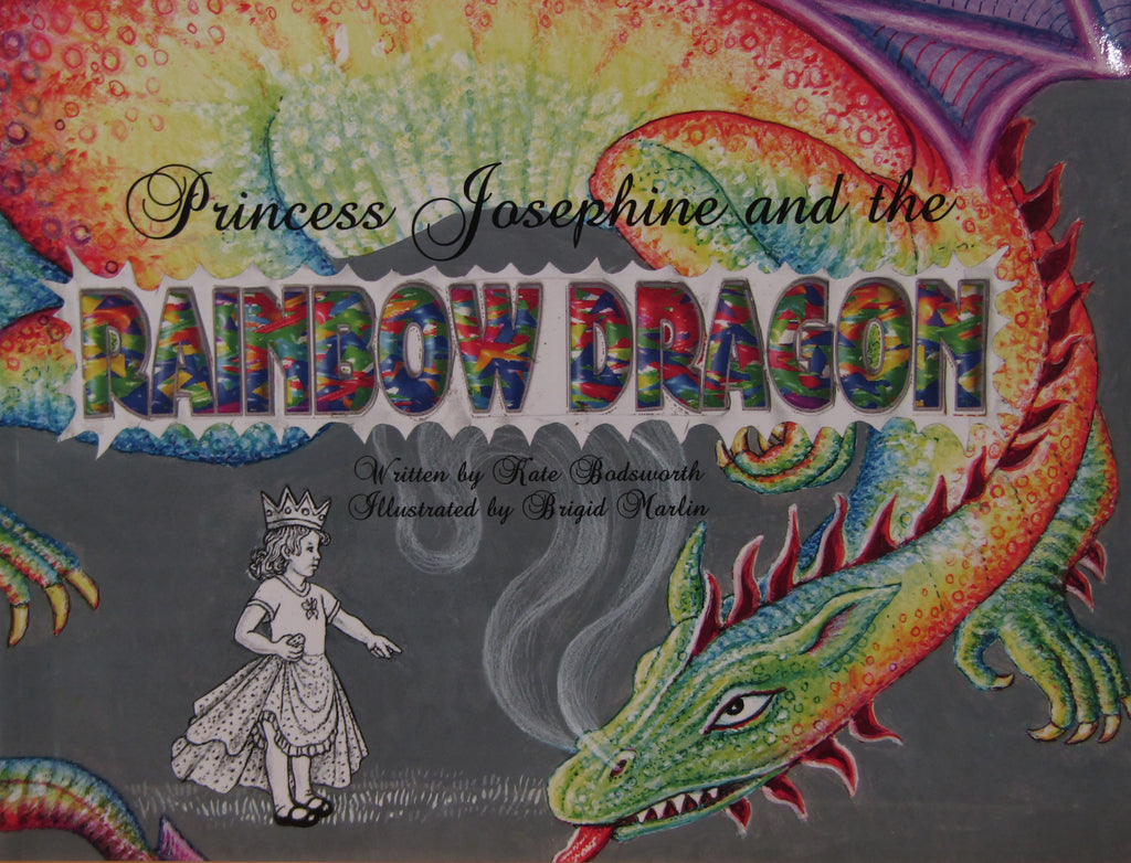 Rainbow Dragon by Brigid Marlin