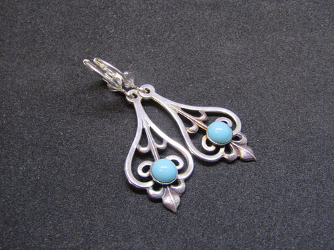 Art Nouveau Drop Earrings