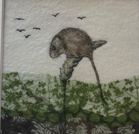 Harvest Mouse by Lindsey Tyson