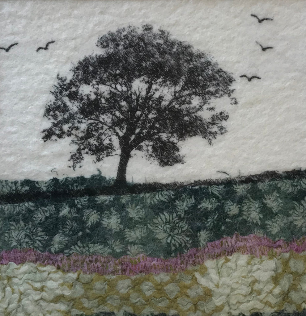 Tree & Birds by Lindsey Tyson