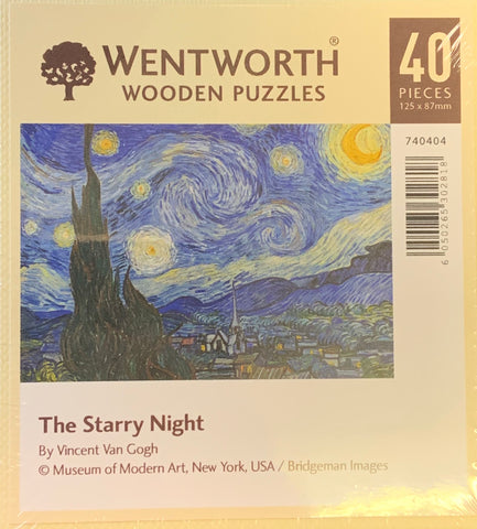 The Starry Night Jigsaw