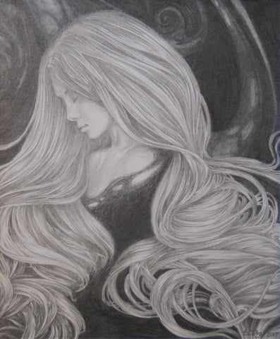 Siren I (original drawing)