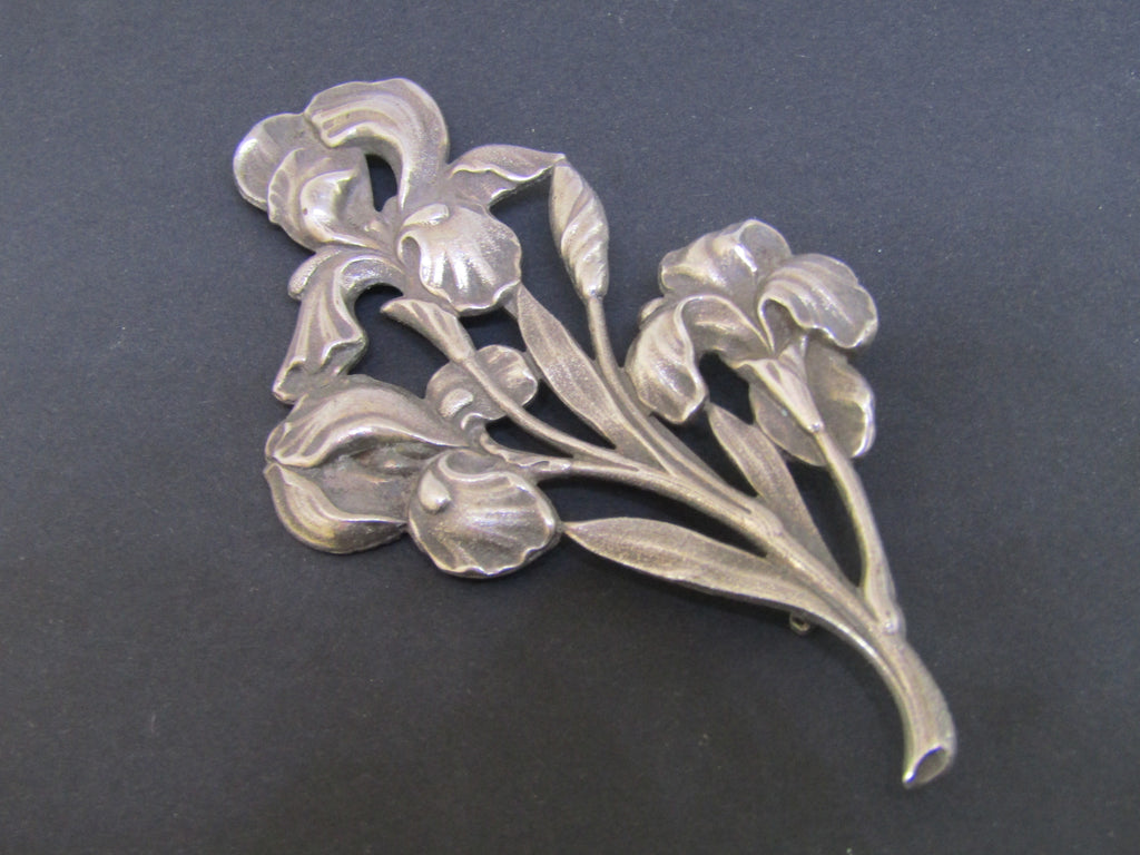 Iris Flower Brooch by Jess Lelong