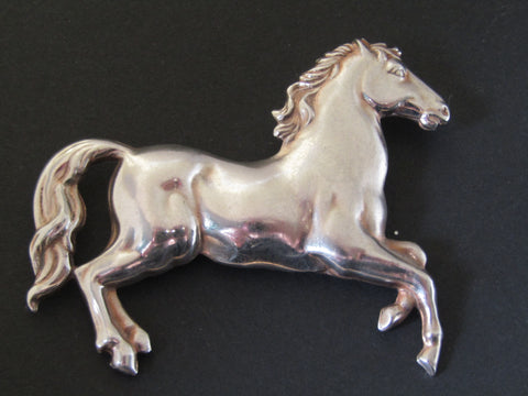 Galloping Horse Brooch