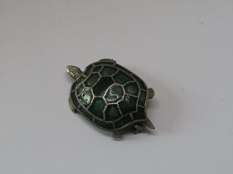 Turtle Brooch by Jess Lelong