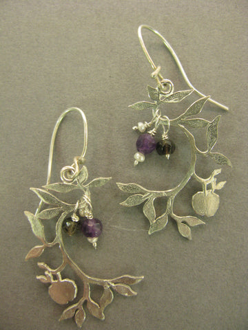 Apple Tree Earrings