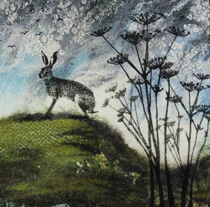 Hare on the Hill by Lindsey Tyson