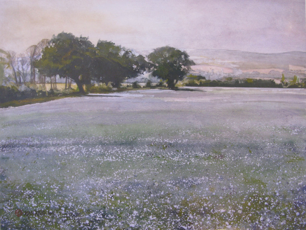 Linseed at Emmington by Alan Kidd