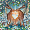 Loving the Yule Dawn Print by Wendy Andrew