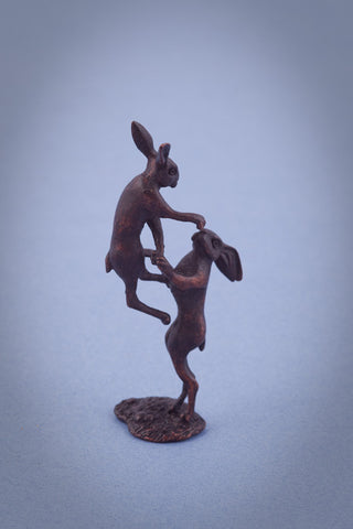 Miniature Boxing Hares