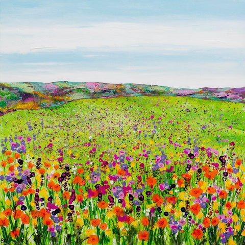 'Meadow with Orange Poppies' by Becca Clegg