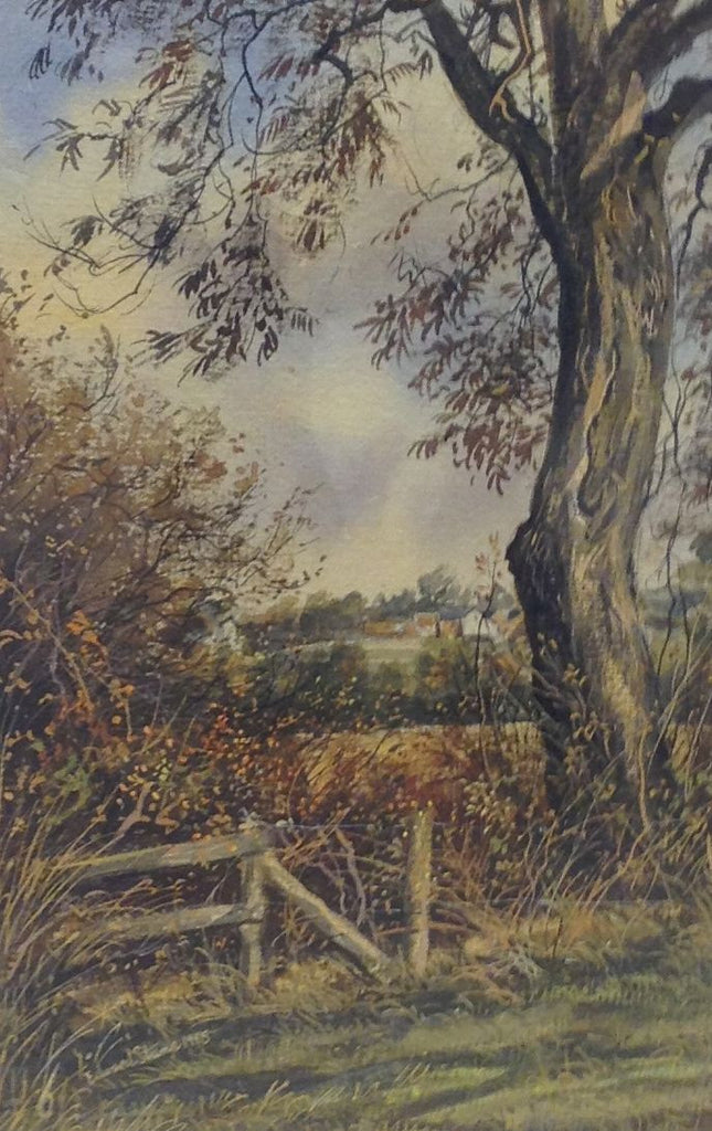 October at Stewkley by Edward Stamp