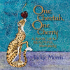 One Cheetah, One Cherry - SIGNED COPY!!! - hard back book written & illustrated by Jackie Morris