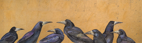 One Rook Right - signed limited edition print by Jackie Morris