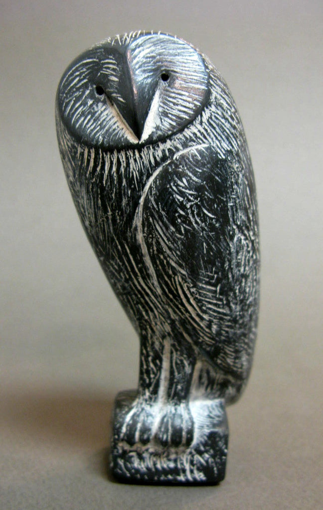 ''Owl''  Limited Edition Slate Resin Sculpture by Paul Smith