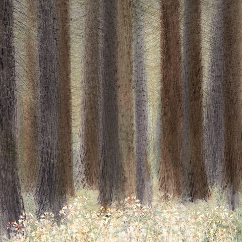'Pine Trees' by Linda Bembridge