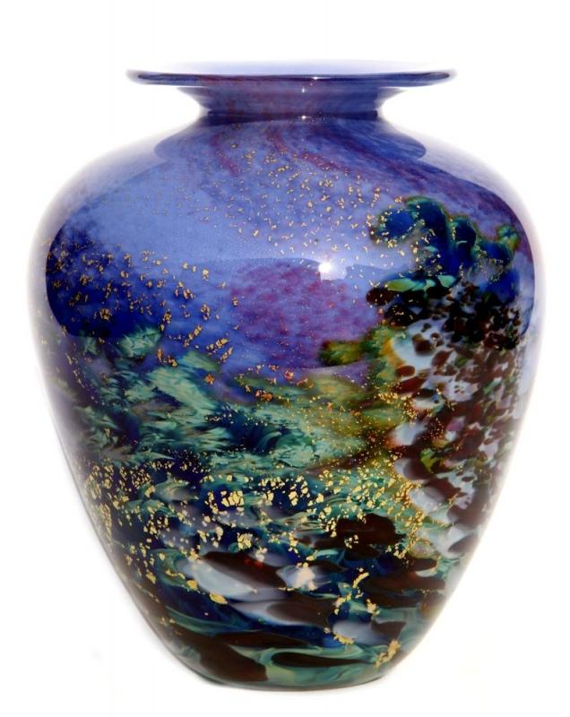 Renoir Glass Vase by Jonathan Harris