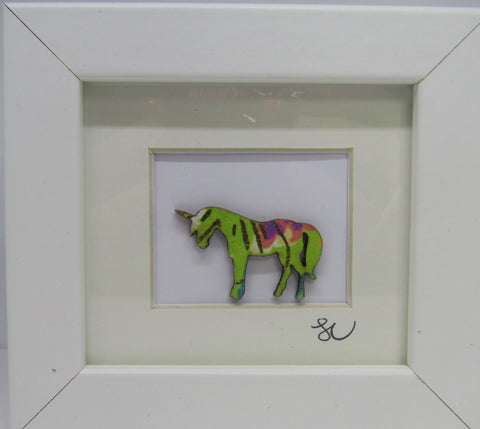 Unicorn - Framed Assemblage