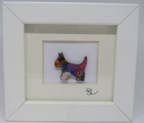 Yorkshire Terrier - Framed Assemblage