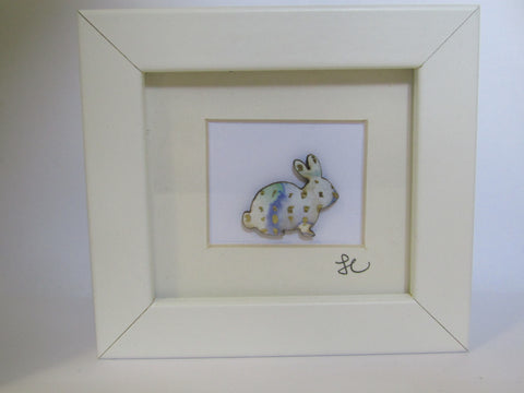 Spotted Rabit - Framed Assemblage
