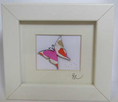 Butterfly - Framed Assemblage