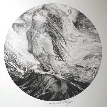 Sea Siren (signed print)