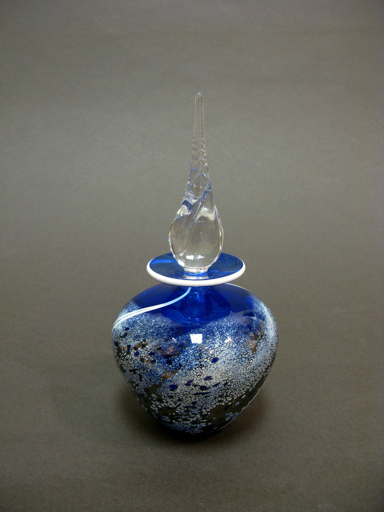 'Stone' Cobalt Perfume Bottle