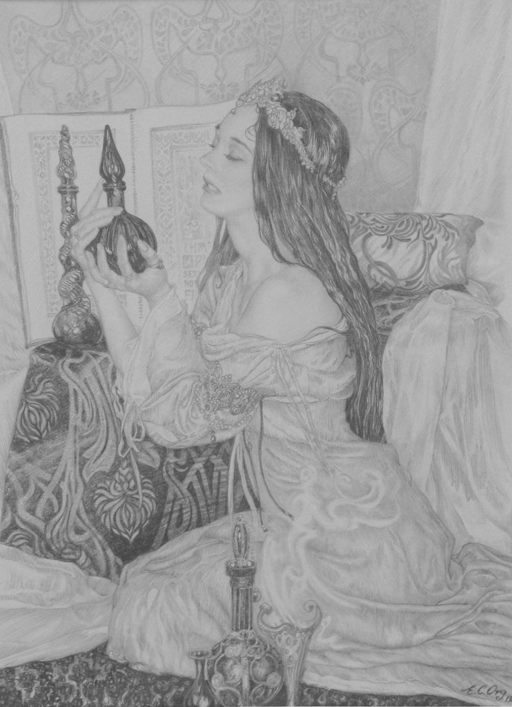 Study for the Arabian Nights (2) by Ed Org