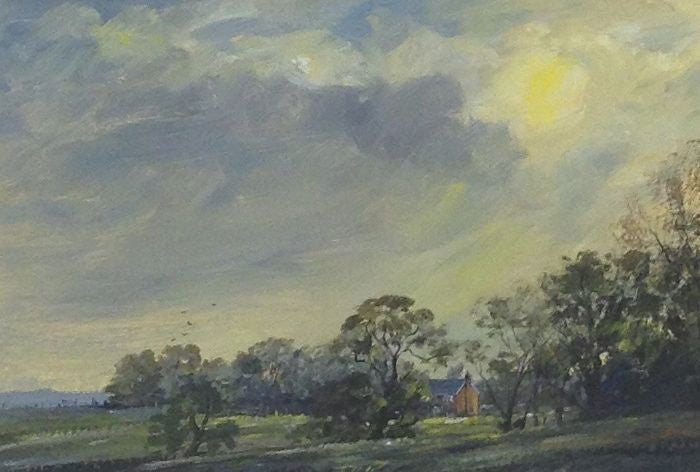 Summer Evening, Dunton by Edward Stamp