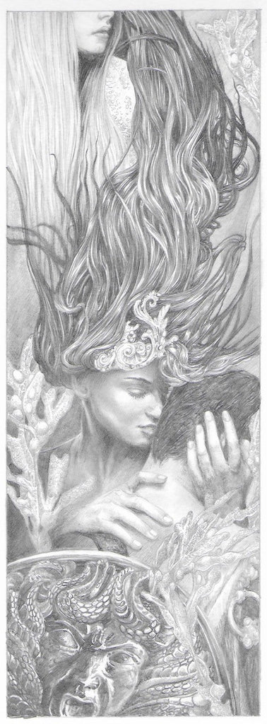 'The Argonaut' Original Pencil Drawing by Ed Org