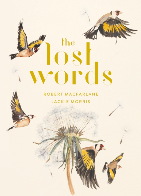 The Lost Words post card by Robert MacFarlane and Jackie Morris