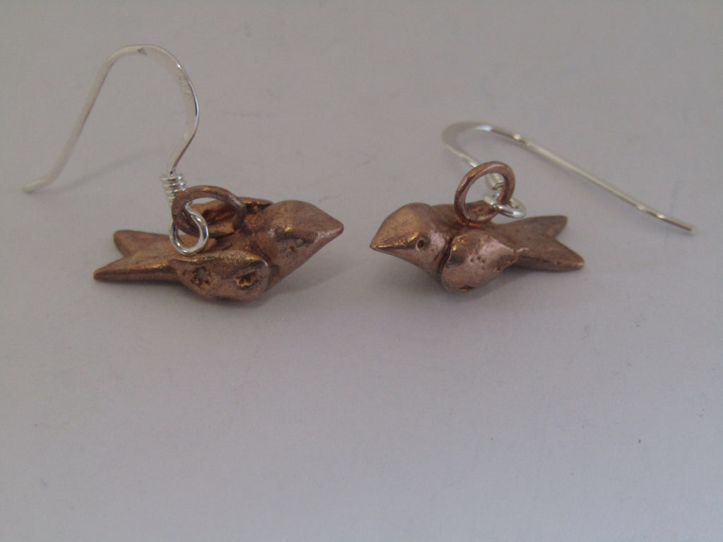 Tiny Bird Earrings by Xuella Arnold